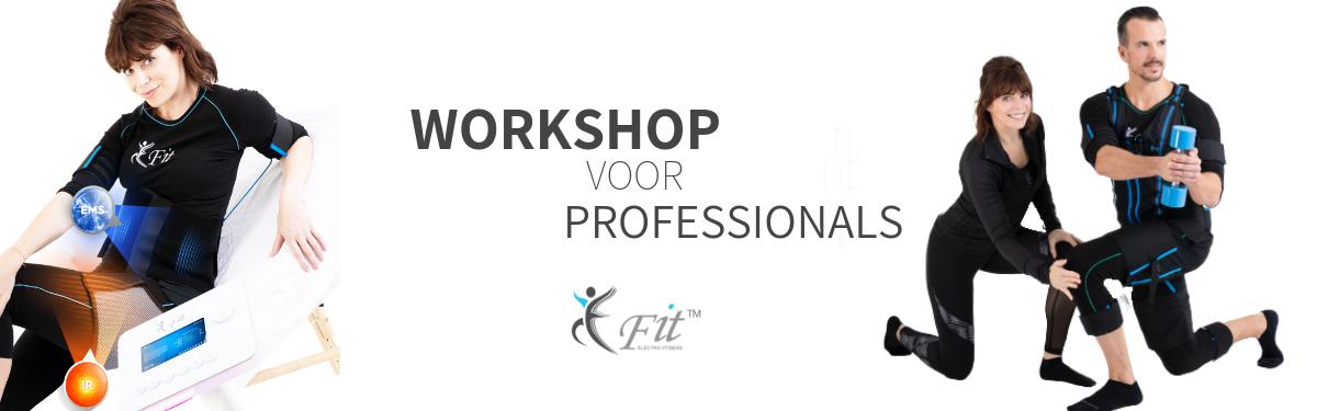 workshop E-Fit voor professionals