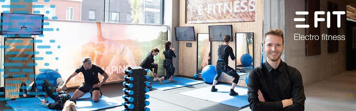 E-Fit center Deinze  haalt 3de plaats in top 10 meest belovend E-Fit filiaal 2020 efit benelux