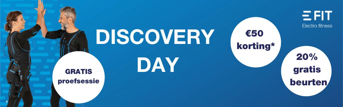 Ontdek E-Fit op de Discovery Day 2021