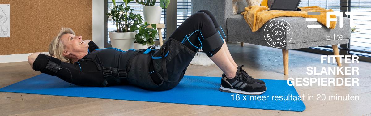E-Lite: een strakker, fitter & gespierder lichaam vanuit het comfort van je huis