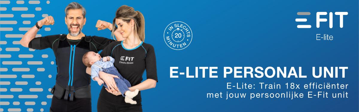 E-Lite een strakker, fitter, gespierder lichaam vanuit het comfort van je huis